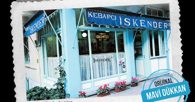 İskender Döner'in esas mekanı : Mavi Dükkan