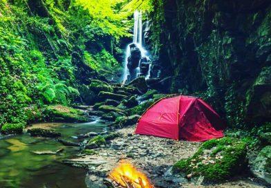 Dağpınar Şelalesinde kamp yap (Bursa)