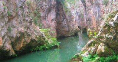 Bursa'da adrenalin ve doğaseverlerin yeni rotası Cennet Kanyonu