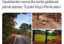 Tuzaklı'da piknik yapın!