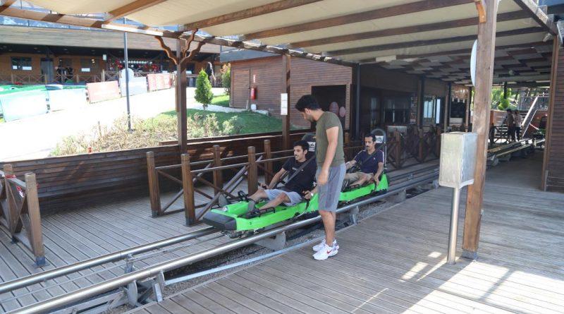 Bursa'daki adrenalin parkta heyecanı yaşayın!
